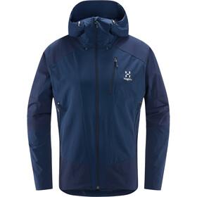Haglöfs Skarn Hybrid Jacket Men tarn blue